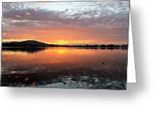 Dawn Panorama Greeting Card