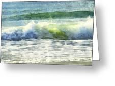 Dawn Wave Greeting Card