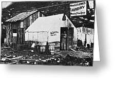 Dawson City, C1900 Greeting Card