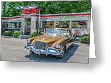Day At The Diner Greeting Card