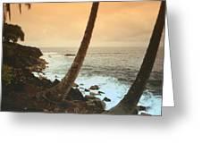 Day Break On Kauai Greeting Card