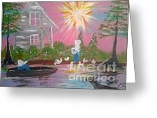 Day In Acadiana Greeting Card