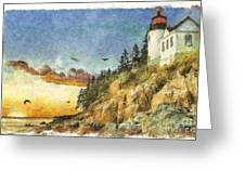 Day Is Done 2015 Greeting Card