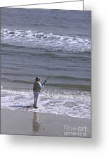 Day Of Ocean Fishing Greeting Card