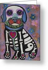 Day Of The Dead Hudson Greeting Card