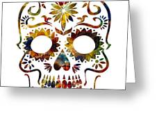 Day Of The Dead Greeting Card by Michael Colgate