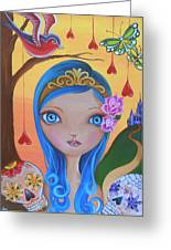 Day Of The Dead Princess Greeting Card