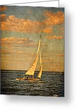 Day Sail Greeting Card