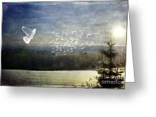 Daybreak At Cedar Hill Greeting Card