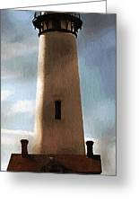 Daybreak At Pigeon Point Greeting Card