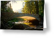 Daybreak Crossing Greeting Card