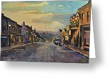 Daybreak In Mineral Point Greeting Card