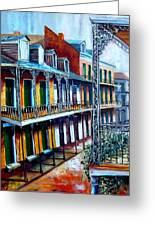 Daybreak On St. Ann Street Greeting Card