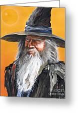 Daydream Wizard Greeting Card