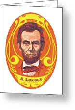 Dayglow Lincoln Greeting Card by Harry West