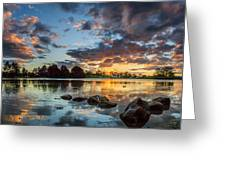 Days Reflection Greeting Card