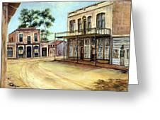Dayton Nevada Greeting Card by Evelyne Boynton Grierson