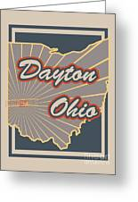 Dayton Ohio Greeting Card