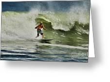 Daytona Beach Surfing Day Greeting Card