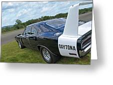 Daytona Charger Greeting Card