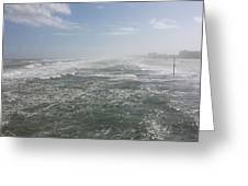 Daytona Waves Greeting Card