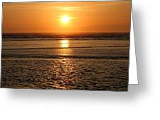 Dazzling Cannon Beach Greeting Card