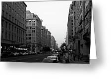 Dc Afternoons Greeting Card