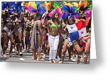 Dc Caribbean Carnival No 11 Greeting Card by Irene Abdou