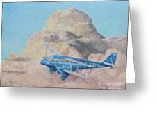 de Havilland Dragon Rapide Greeting Card