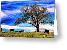De Hoek Farm Greeting Card