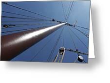 de Mast Greeting Card