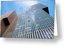 De Rotterdam Vertical City Greeting Card