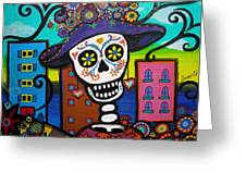 Dead And The City Greeting Card