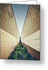 Dead End Alley Greeting Card