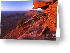 Dead Horse Point Sunset Greeting Card