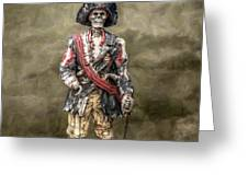 Dead Men Tell No Tales Greeting Card by Randy Steele