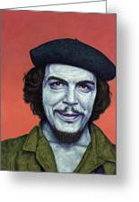 Dead Red - Che Greeting Card