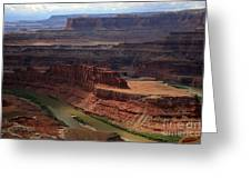 Deadhorse Point Greeting Card