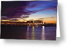 Deal Pier Greeting Card