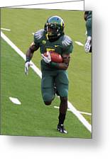 De'anthony Thomas Oregon Ducks Greeting Card by Sam Amato