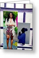 Black Love Matters Greeting Card