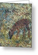 Dear Or Deer Being Hunted Greeting Card
