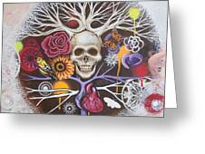Death Becomes Me Greeting Card