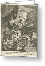 Death Of Dido, Gerard De Lairesse, 1668 Greeting Card