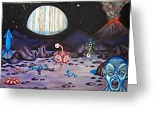 Death On Io Greeting Card by Chris Benice