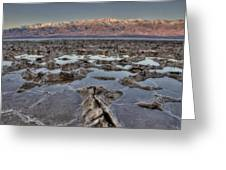 Death Valley 7 Greeting Card