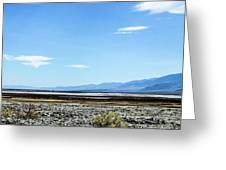 Death Valley California Greeting Card