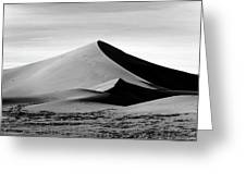 Death Valley Ibex Dunes Greeting Card