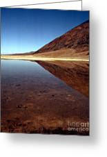 Death Valley Lake Greeting Card