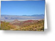 Death Valley National Park - Eastern California Greeting Card by Christine Till